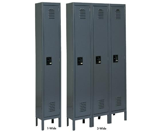 SINGLE TIER LOCKERS