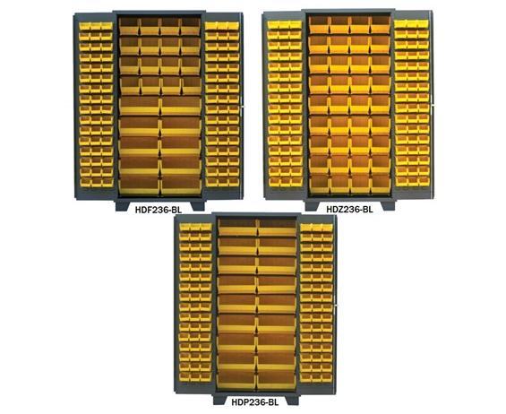 PLASTIC BIN WELDED CABINET - SOLID DOORS