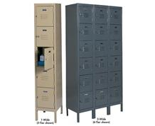 5 & 6 TIER LOCKERS