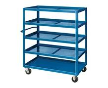 EXPANDED METAL STOCK CART